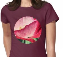 Red Poppy in Sunlight Womens Fitted T-Shirt