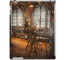 Machinist - The crowded workshop iPad Case/Skin