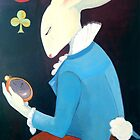 White Rabbit Time by pollyalice