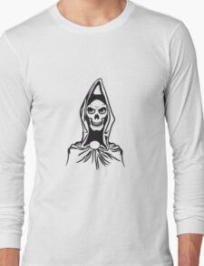 Death hooded robe evil Long Sleeve T-Shirt