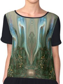 Synaesthesia - shapes of music Chiffon Top