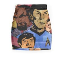 Faces of the Final Frontier Mini Skirt