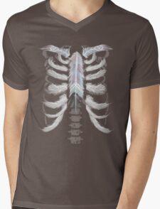 Fragle ribs Mens V-Neck T-Shirt