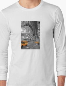NYC Yellow Cabs Lehman Brothers Long Sleeve T-Shirt
