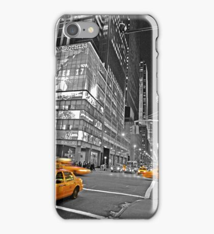 NYC Yellow Cabs Lehman Brothers iPhone Case/Skin
