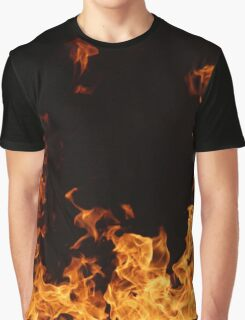 Flames of Fire II Graphic T-Shirt