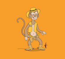Monkey Cowboy Unisex T-Shirt