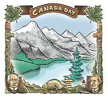Canada Day by MacKaycartoons
