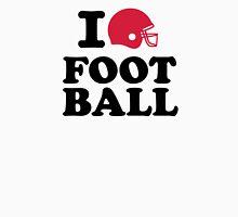 I love Football helmet Unisex T-Shirt