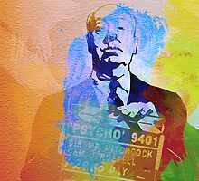 Alfred Hitchcock by thewavve