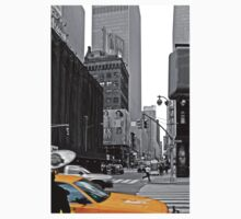 NYC Yellow Cabs Sex and the .... One Piece - Short Sleeve