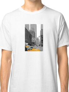 NYC Yellow Cabs Sex and the .... Classic T-Shirt