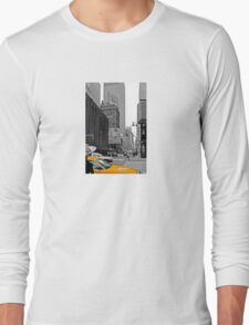 NYC Yellow Cabs Sex and the .... Long Sleeve T-Shirt