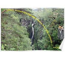Corrieshalloch Gorge Poster