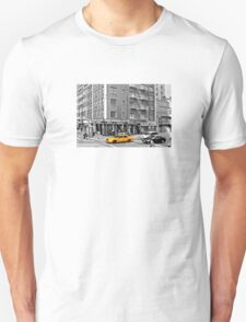 NYC Yellow Cabs Bagel Cafe Unisex T-Shirt