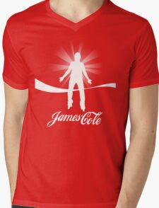 James Cole (the Real Thing) Mens V-Neck T-Shirt