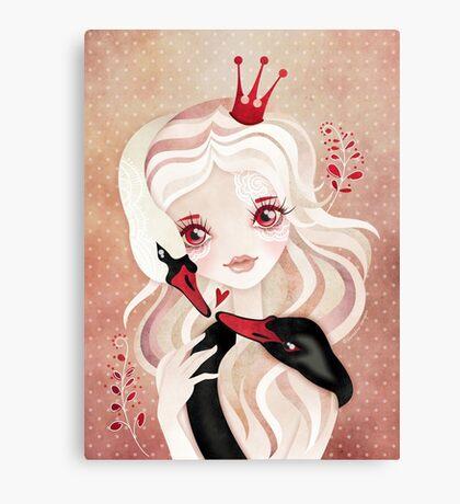 Swan Princess Canvas Print