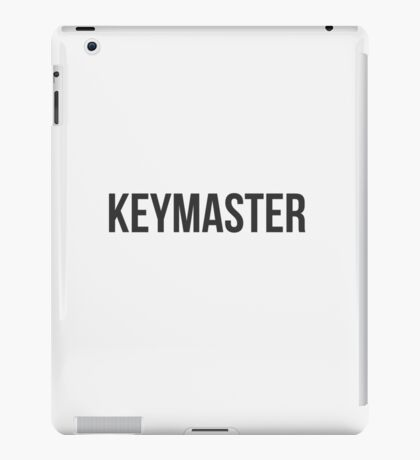 Are you the Keymaster? iPad Case/Skin