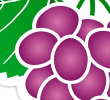Grape Sticker