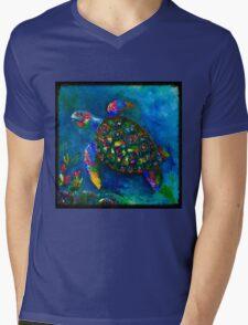 Ocean Jewel Mens V-Neck T-Shirt