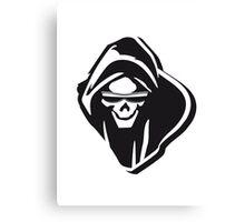 Death hooded evil sunglasses creepy Canvas Print