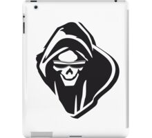 Death hooded evil sunglasses creepy iPad Case/Skin