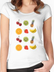 Fruit  Women's Fitted Scoop T-Shirt