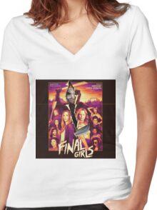 final girls Women's Fitted V-Neck T-Shirt