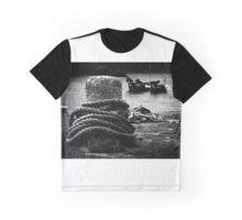 Bollard & Boats Graphic T-Shirt