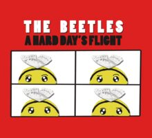 The Beetles, A Hard Day's Flight Kids Tee