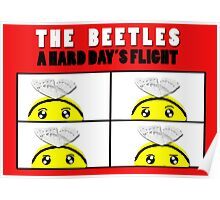 The Beetles, A Hard Day's Flight Poster
