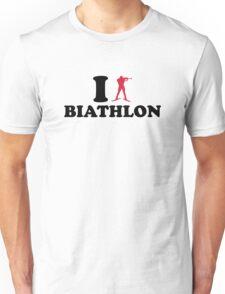I love Biathlon Unisex T-Shirt