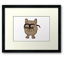 Adipose x French Bulldog Framed Print