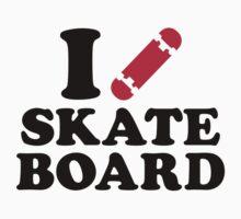 I love Skateboard Kids Clothes