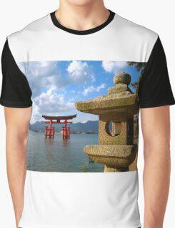 Itsukushima Shrine Graphic T-Shirt