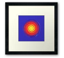 Spiral power cell Framed Print