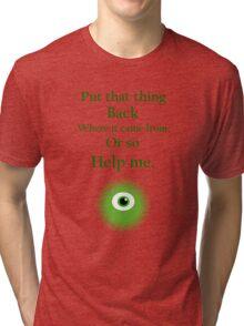 Mike Wazowski Tri-blend T-Shirt