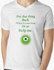 Mike Wazowski Mens V-Neck T-Shirt