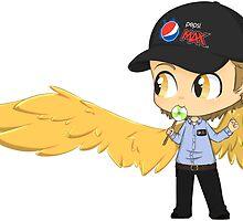 Gabriel the Pepsi Max Guy by KhemyklShark