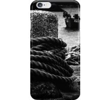 Bollard & Boats iPhone Case/Skin