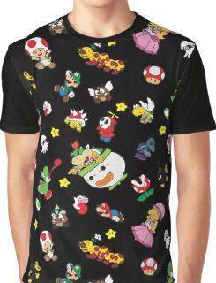 It's a SUPER Mario Pattern. Graphic T-Shirt