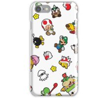It's a SUPER Mario Pattern. iPhone Case/Skin