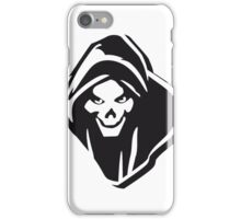 Death hooded evil creepy iPhone Case/Skin