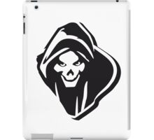 Death hooded evil creepy iPad Case/Skin