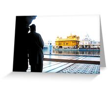 Reflection at Sikh Temple Greeting Card
