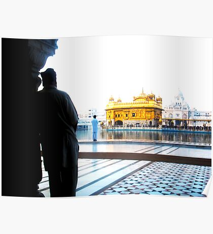 Reflection at Sikh Temple Poster