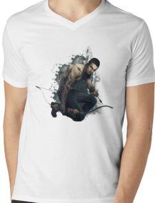 Arrow Mens V-Neck T-Shirt