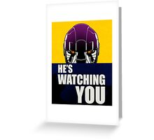 Sentinels watching. Greeting Card