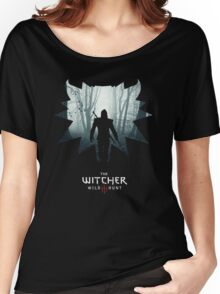 The White Wolf - The Witcher t-shirt / Phone case / Mug 1 Women's Relaxed Fit T-Shirt