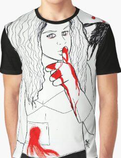 """Angry Angel"" Helena Art Graphic T-Shirt"